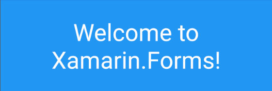 Default Xamarin.Forms Font Family